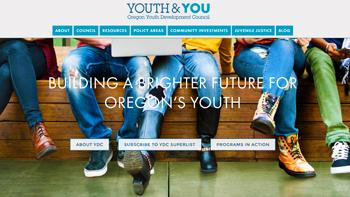 Oregon Youth Development Council Website